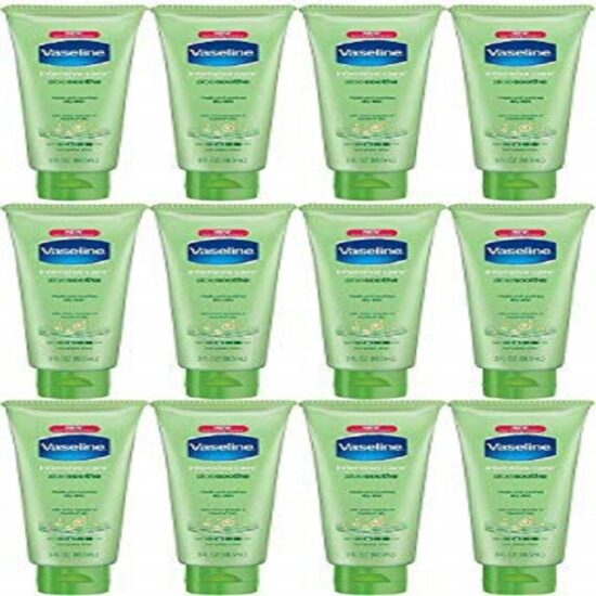 VASELINE LOTION 3 OZ ALOE 12PK
