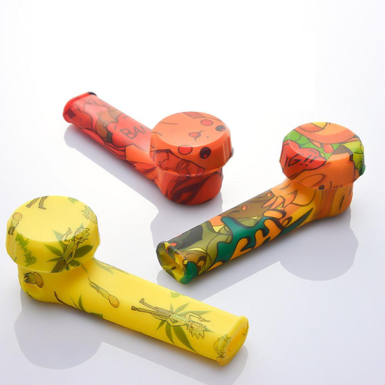 "3.4"" Mini Tobacco Pipe Printed"