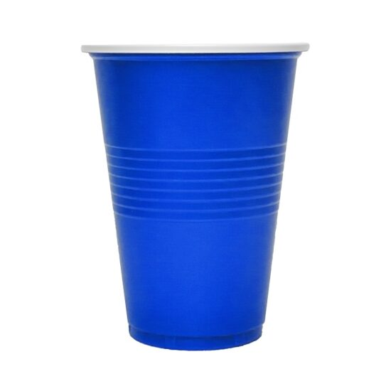 Blue Party Cups 18ct 16oz