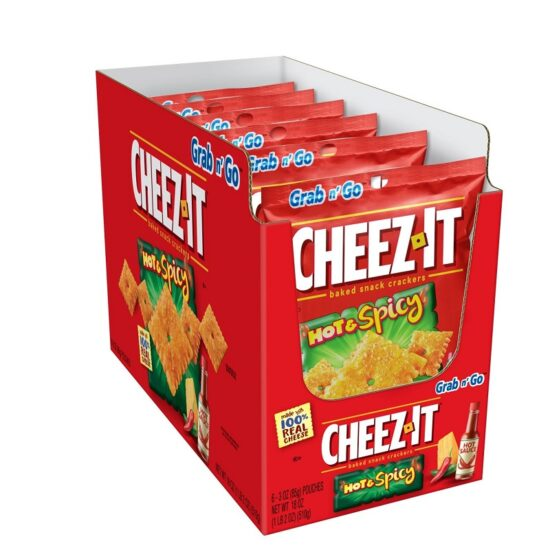 Cheez It Hot Spicy 6ct