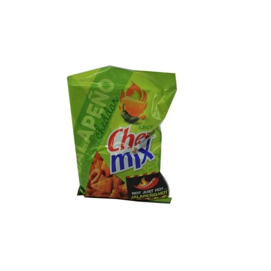 Chex Mix Jalapeno Cheddar 8ct 3.75oz