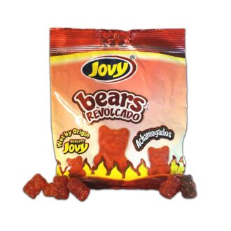Crazy Gummy Bears Chamoy 5oz 24
