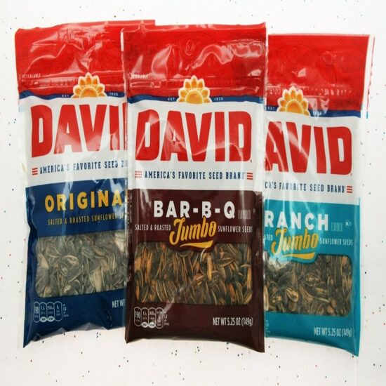 David Bbq Jumbo Sunflower 12ct 5.25oz