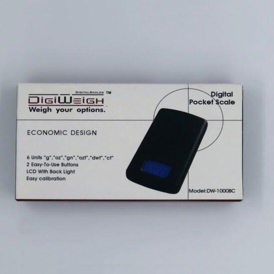 Digi Weigh Pocket Scale DW-1000BC