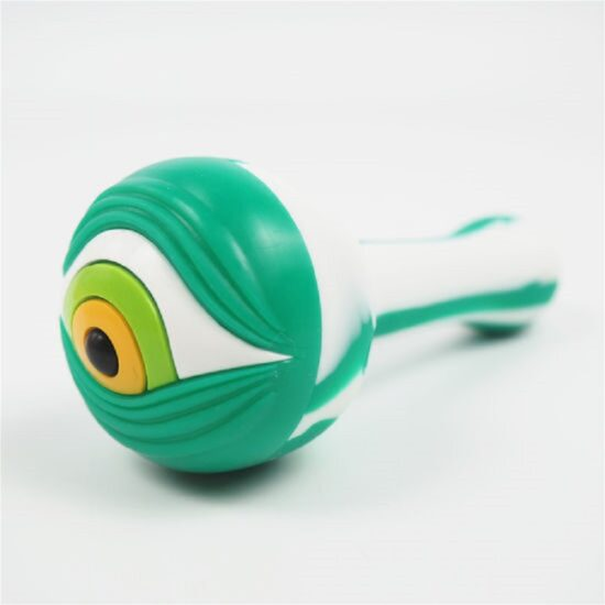 Eye Pipe Silicone Hand Pipe