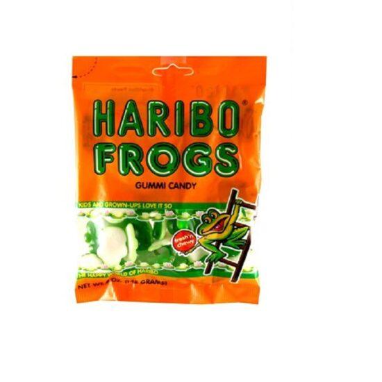 Haribo Frogs Gummi Candy HB 5oz