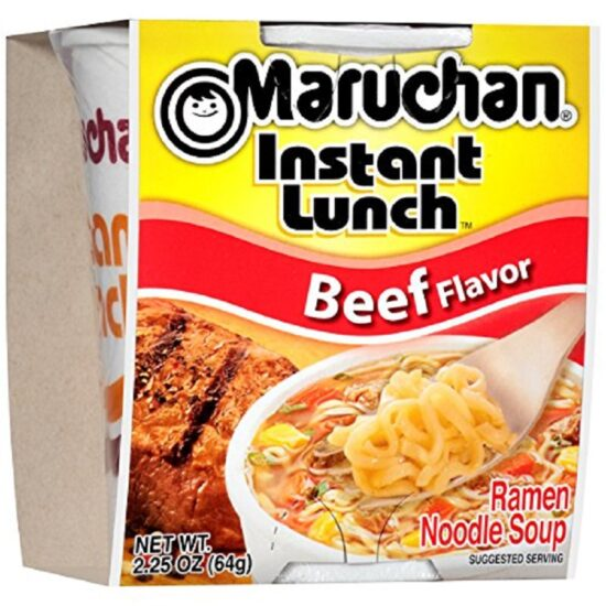 Maruchan Beef Instant 12ct 2.25oz