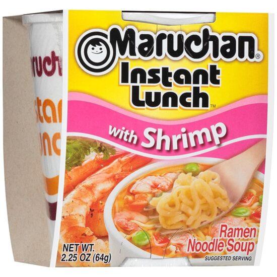 Maruchan Shrimp Instant 12ct 2.25oz