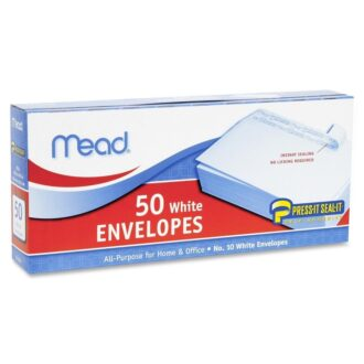 Mead White Envelopes 50ct