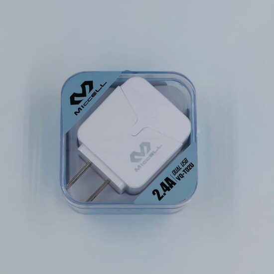 Miccell 2.4A Dual USB Home Charger
