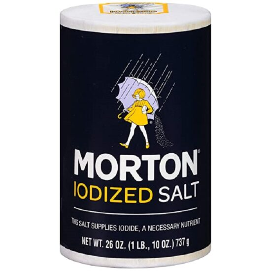 Morton Iodized Salt 26oz