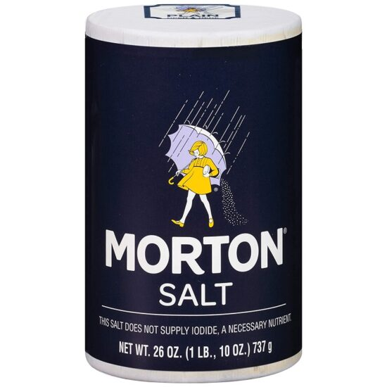 Morton Plain Salt 26oz