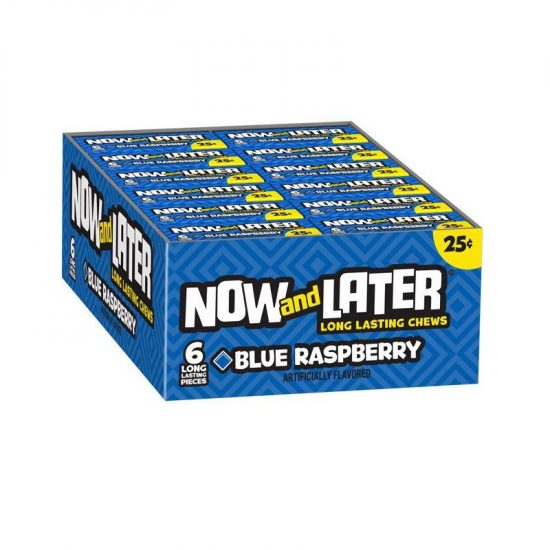 Now & Later Blueraspberry 24ct