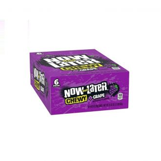 Now & Later Chewy Grape 24ct