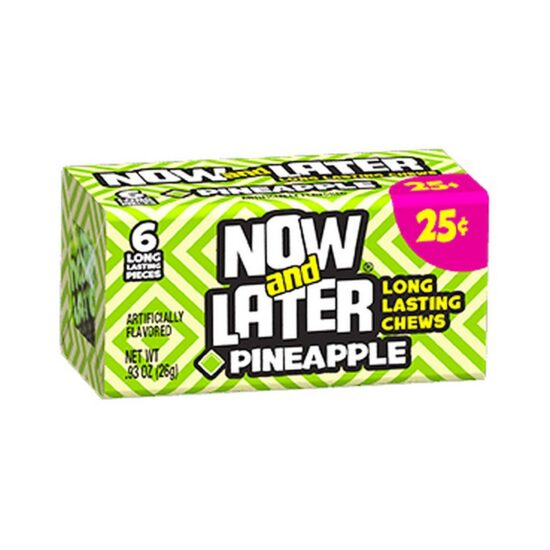 Now Later Pineapple .25 24ct