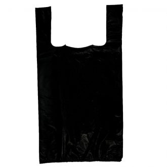 Plastic T-Shirt Black Bag Box 10*5*19 Medium 650pcs