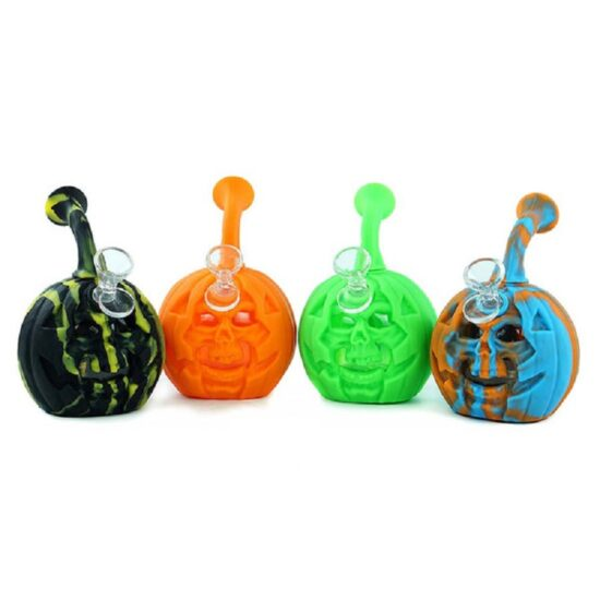 Pumpkin Skull Dab Rig