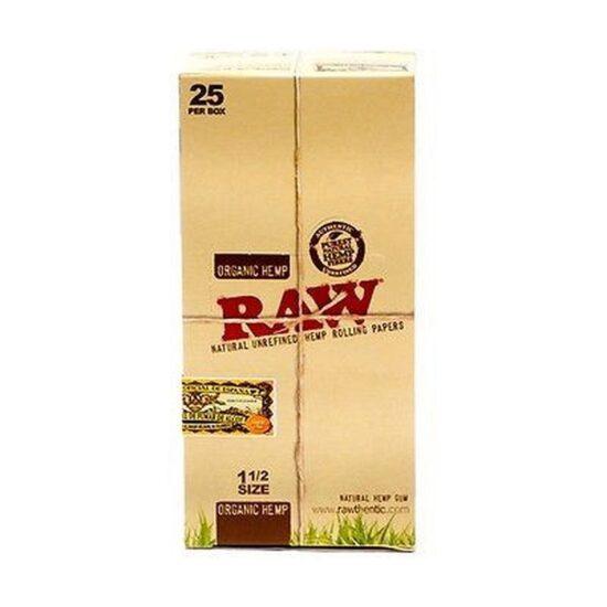 Raw Organic Hemp 1 1/2