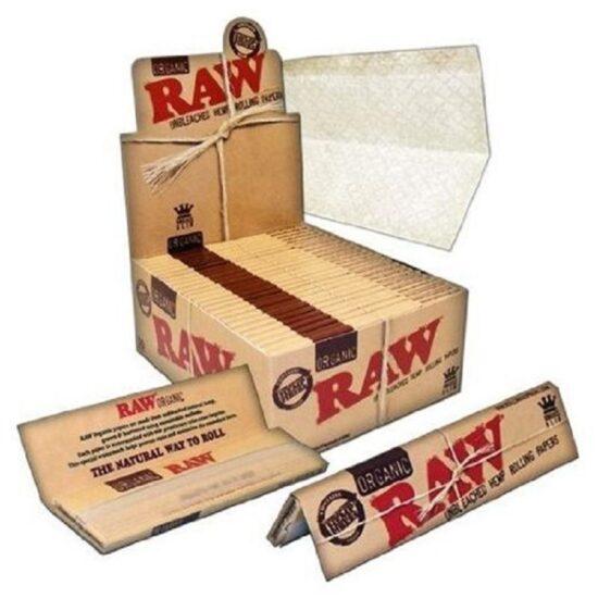 Raw Organic Hemp King Size