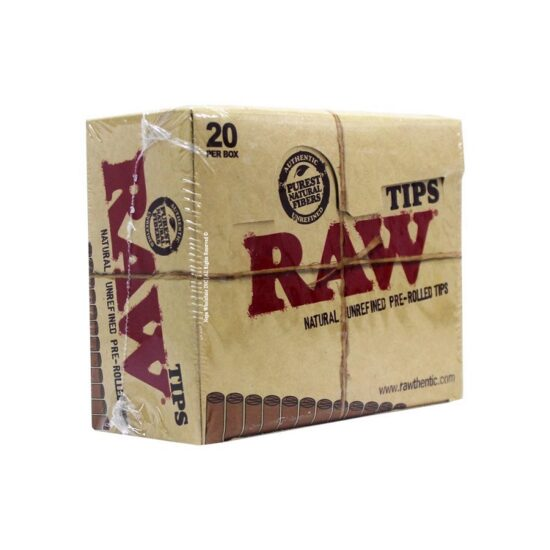 Raw Tip 20 Pack Box