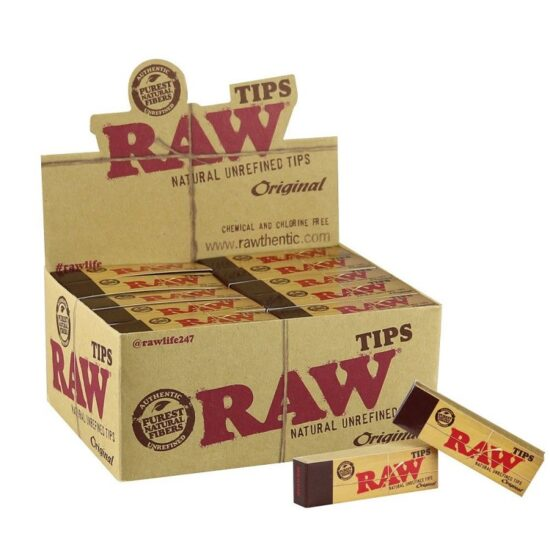 Raw Tip 50 Pack Box