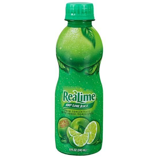 Real Lime Juice 8oz