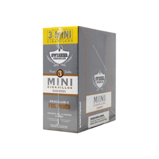 Swisher Mini Cigarillos Unsweet