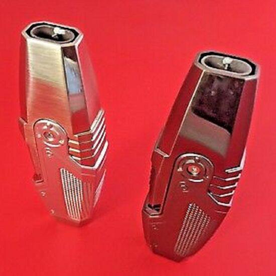 Techno Silver Lighters