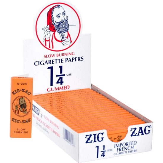 Zig Zag Orange C Paper 24ct