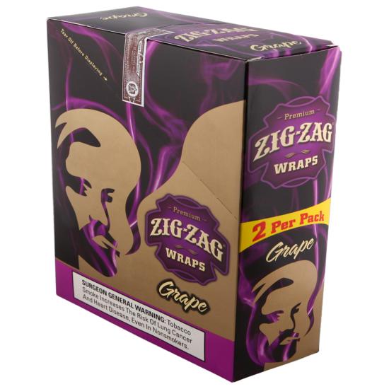 Zig Zag Wrap Grape