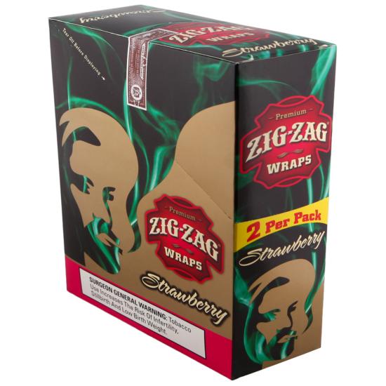 Zig Zag Wrap Strawberry