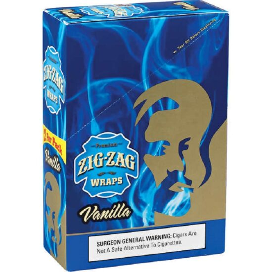 Zig Zag Wrap Vanilla
