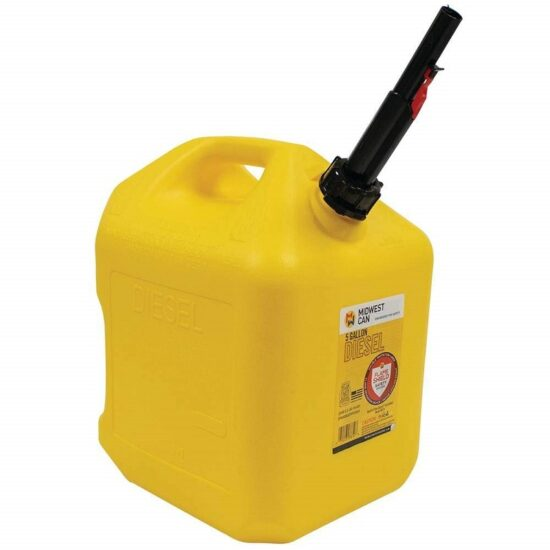Gas Can Diesel Yellow 5 Gal