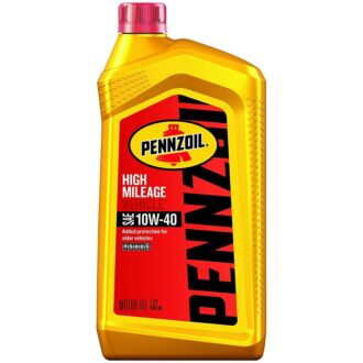 Pennzoil High Mileage 10W-40 1qt 6ct