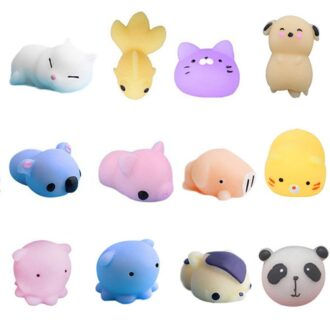 Squeeze Animals 12pc