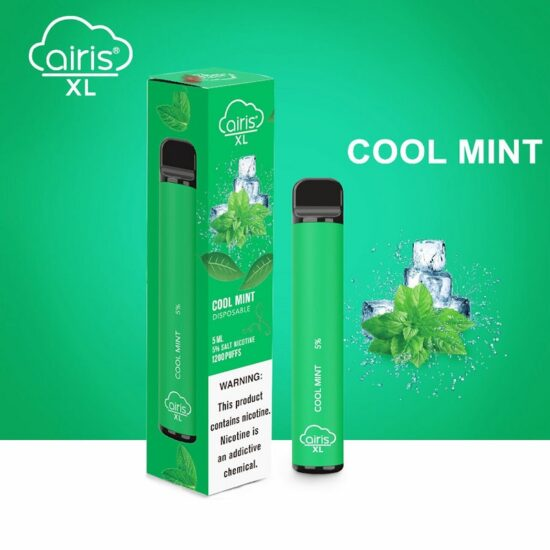 AIRIS XL COOL MINT 1200 PUFF