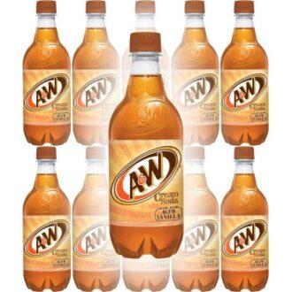 A&W Cream Soda 20oz 24ct