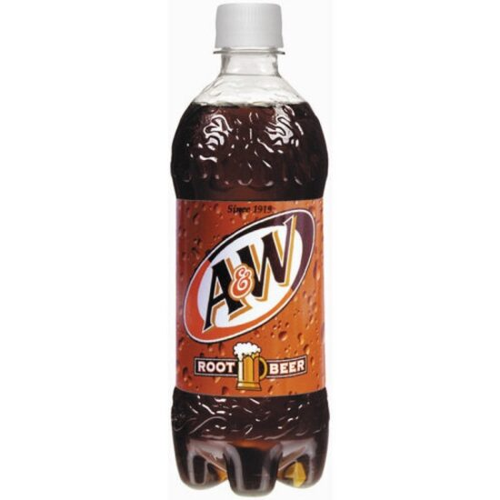 A&W Root Beer 20oz 24ct