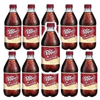 Dr Pepper & Cream Soda 20oz 24ct