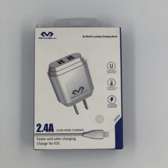 Micell 2.4A 2USB Home Charger IOS