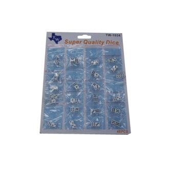 TW DICE SMALL CARDS 24CT