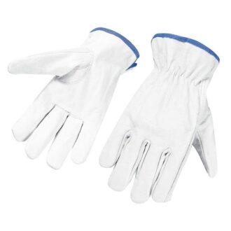 12 Pair Of Grain Leather Work Glove
