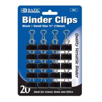 BAZIC BLACK BINDER CLIP