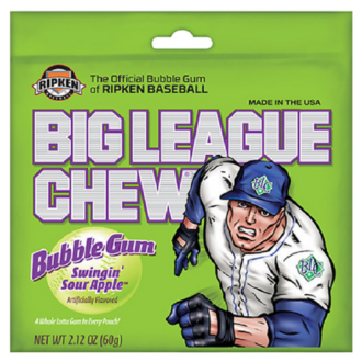 BIG LEAGUE CHEW COTTON CANDY 2.12 12CT