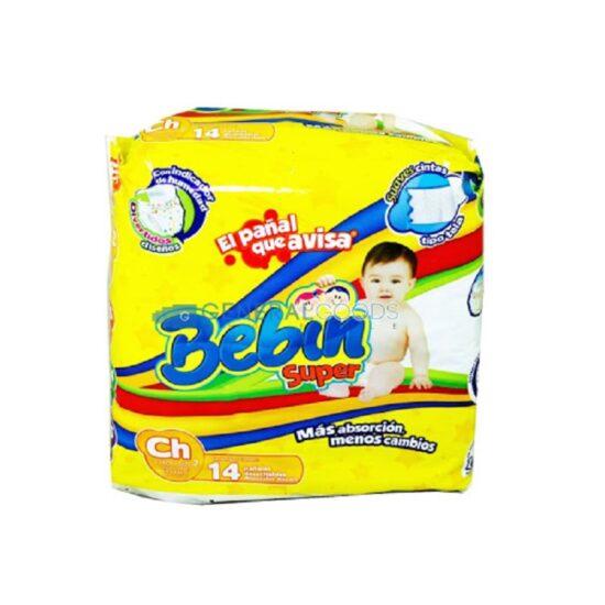 Bebin Super Diaper Large 14ct