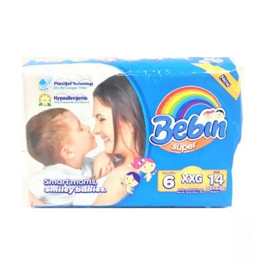 Bebin Super Diapers X Large 14ct