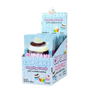 CUPCAKE POPPING CANDY 20 CT