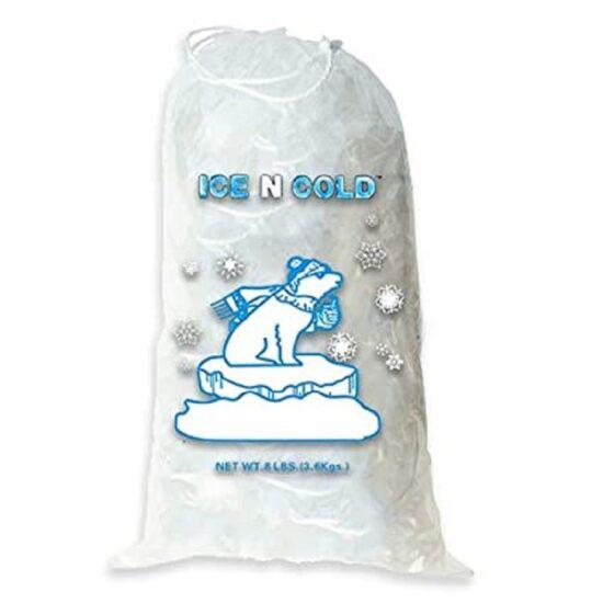 Drawstring Ice Bag 8lb