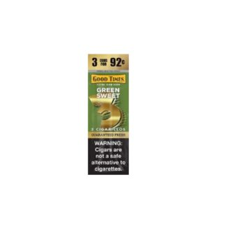GT GREEN SWEET 3 FOR 92 15/3CT