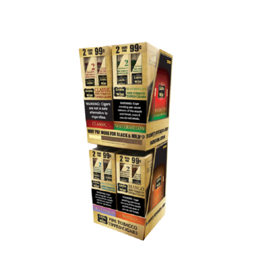 LITTLE & WILD PIPE TOBACCO TIPPED CIGARS